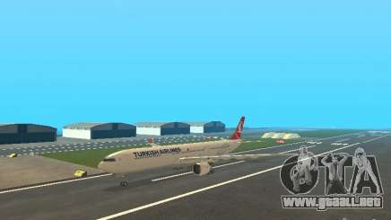 Airbus A330-300 Turkish Airlines para GTA San Andreas