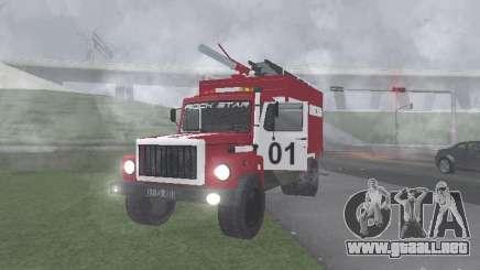 GAZ 3309 fuego para GTA San Andreas