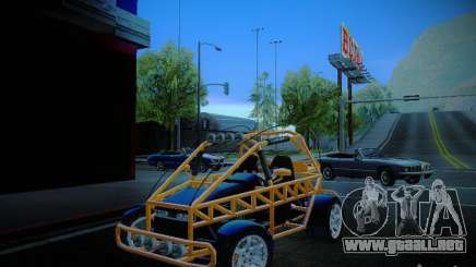 Buggy From Crash Rime 2 para GTA San Andreas