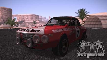 Lancia Fulvia Rally Marlboro para GTA San Andreas