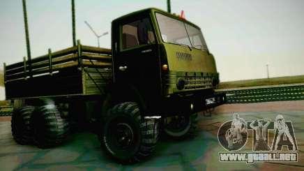 KAMAZ 4310 ejército para GTA San Andreas