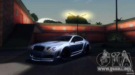 Bentley Continental GT Premier4509 2008 Final para GTA San Andreas