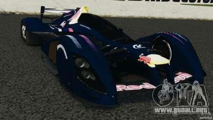 Red Bull X2010 para GTA 4