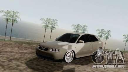 Audi A3 plata para GTA San Andreas