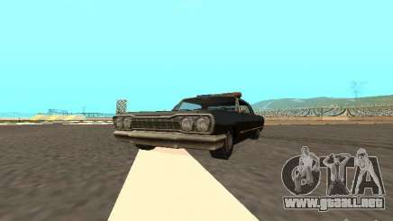 Police Savanna para GTA San Andreas