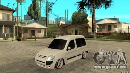 Citroen Berlingo 2007 para GTA San Andreas