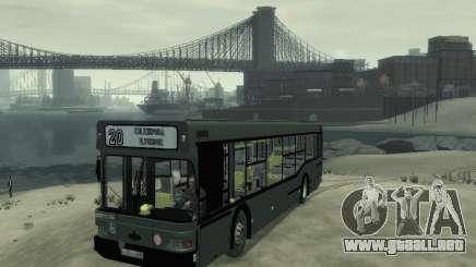 MAZ 103 Bus para GTA 4