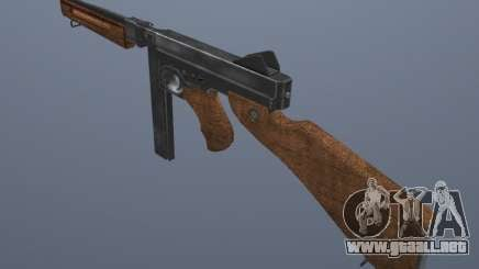 M1 Thompson para GTA San Andreas