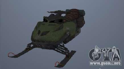 Motos de nieve para GTA San Andreas