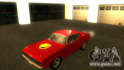 Plymouth Hemi Cuda para GTA San Andreas
