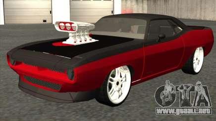 Plymouth Hemi Cuda 440 para GTA San Andreas