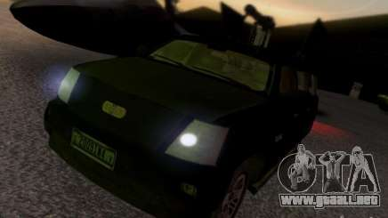 Suv Call Of Duty Modern Warfare 3 para GTA San Andreas