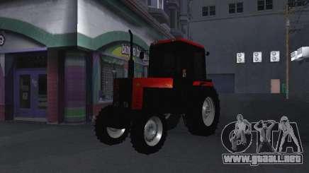 Tractor MTF 1025 para GTA San Andreas