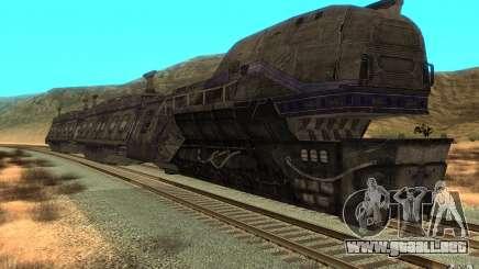 Un tren desde el juego Aliens vs Predator v1 para GTA San Andreas