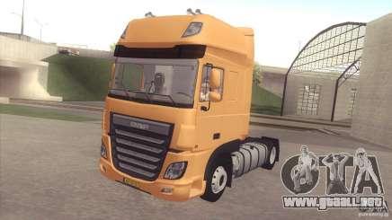 DAF XF Euro 6 para GTA San Andreas