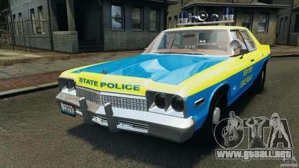 Dodge Monaco 1974 Police v1.0 [ELS] para GTA 4