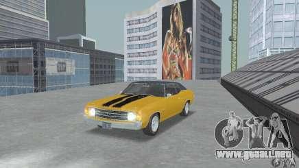 Chevrolet Chevelle SS 1972 para GTA San Andreas