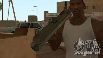LAW Rocket launcher para GTA San Andreas