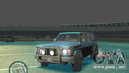 Nissan Safari 1992 para GTA 4