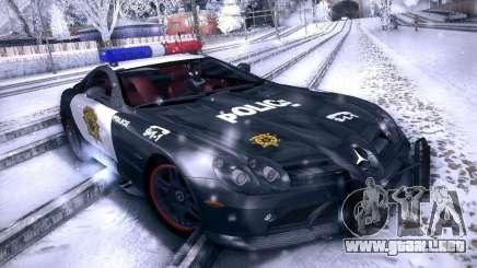 Mercedes-Benz SRL 722 Police para GTA San Andreas