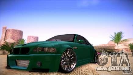 BMW E46 Drift II para GTA San Andreas