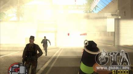 Fumar Granada HD para GTA San Andreas