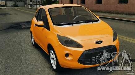 Ford Ka 2011 para GTA 4