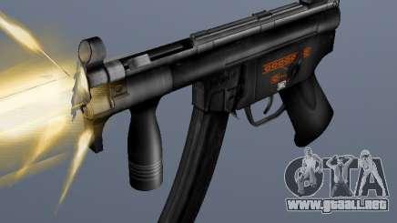 H&K MP5K para GTA San Andreas