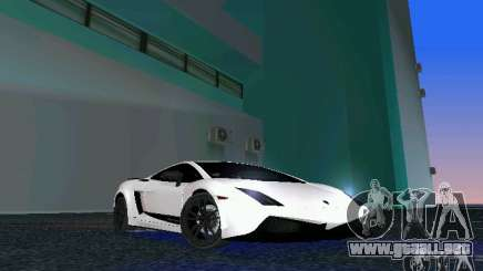 Lamborghini Gallardo LP570 SuperLeggera para GTA Vice City