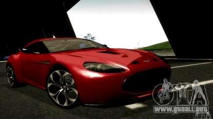 Aston Martin V12 Zagato Final para GTA San Andreas