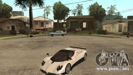 Pagani Zonda F blanco para GTA San Andreas