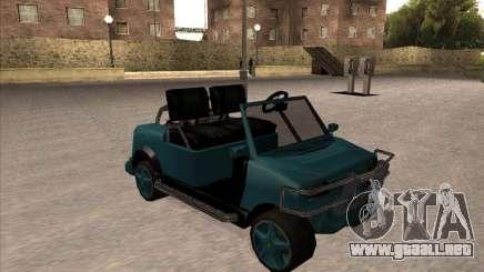 Small Cabrio para GTA San Andreas