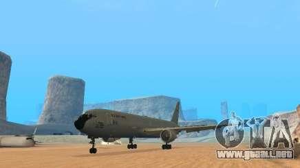 Boeing KC767 U.S Air Force para GTA San Andreas