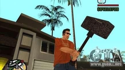 Martillo del WarCraft III para GTA San Andreas