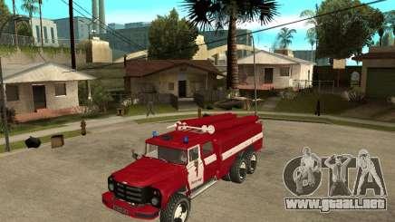 Fuego ZIL 133GÂ AC para GTA San Andreas