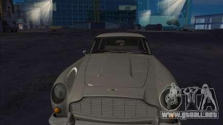 Aston Martin DB5 белый para GTA San Andreas