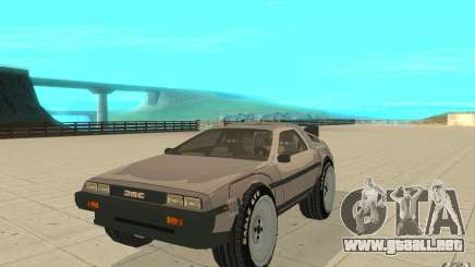 DeLorean DMC-12 (BTTF1) para GTA San Andreas