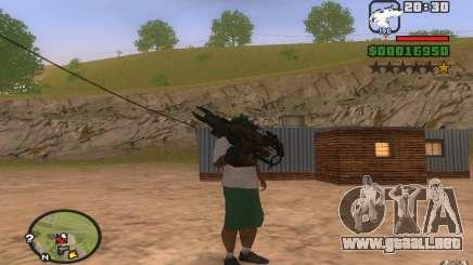 Lanzacohetes de prototipo para GTA San Andreas