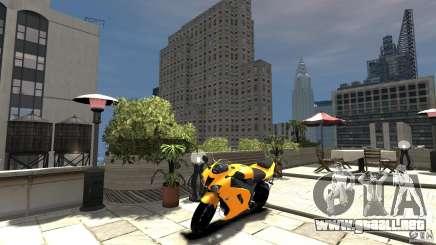 Kawasaki Ninja ZX6R 2008 Beta para GTA 4