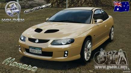 Holden Monaro CV8-R para GTA 4