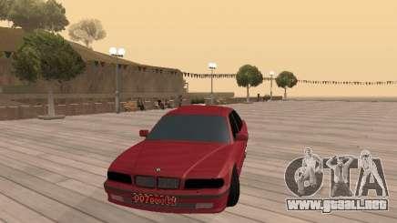 BMW 750iL e38 diplomático para GTA San Andreas
