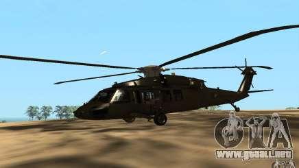 UH-60 Silent Hawk para GTA San Andreas