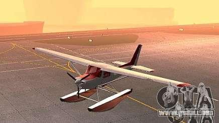 Cessna 152 opción del agua para GTA San Andreas