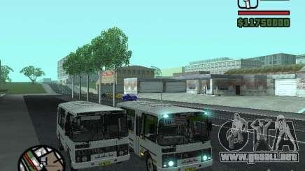 Paz-32054 para GTA San Andreas