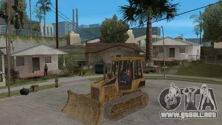 Bulldozer del COD 4 MW para GTA San Andreas