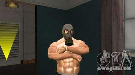 Máscara de gas para GTA San Andreas