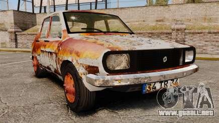 Renault 12 Toros oxidado v2.0 para GTA 4