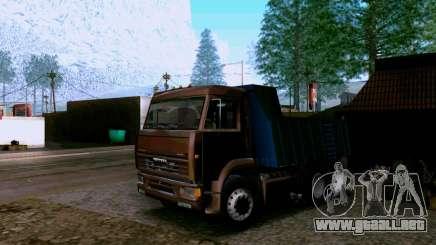 Camión KAMAZ 6520 para GTA San Andreas
