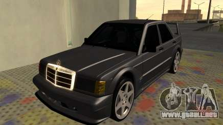 Mercedes-Benz 190E Evolution II 2.5 1990 para GTA San Andreas