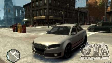 Audi RS4 plata para GTA 4